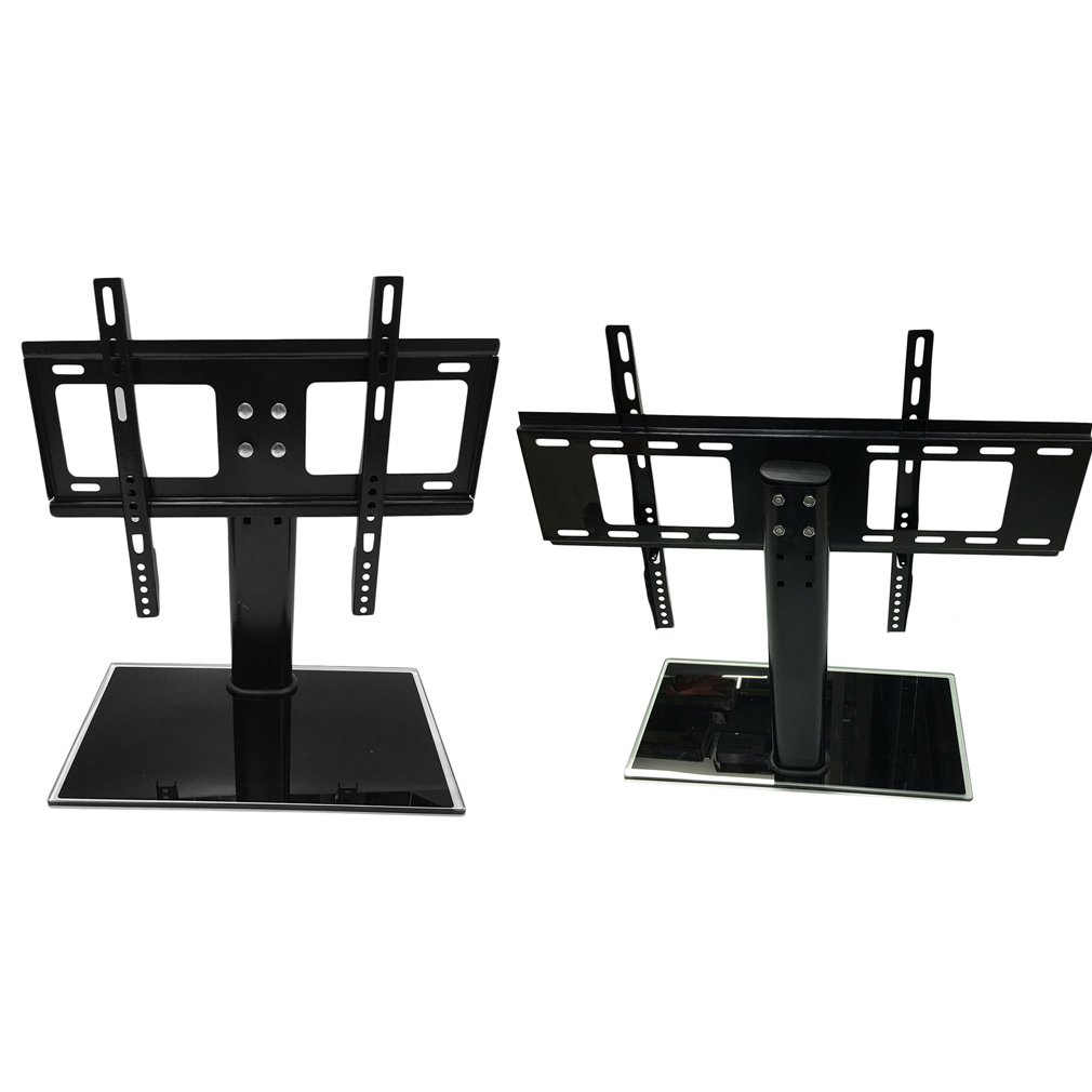 HJY 26-32 / 37-55 inch Adjustable Movable Folding Universal TV Stand Pedestal Base Wall Display Rack Mount Flat Screen TVs