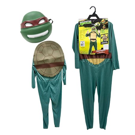 Teenage Mutant Ninja Turtle Turtles Raphael Red Child Boys TMNT Kids - Tonto Kids Costume