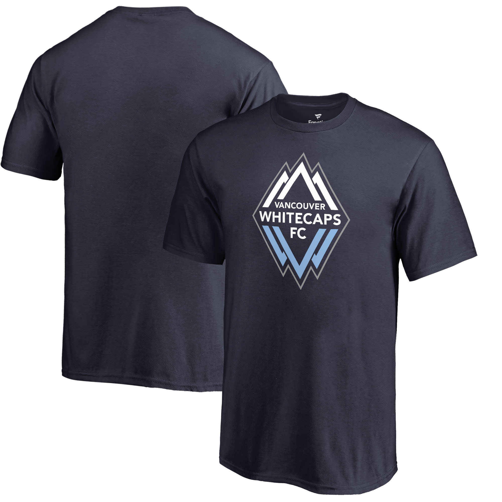 Vancouver Whitecaps FC Fanatics Branded Youth Primary Logo T-Shirt - Navy