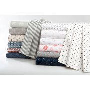 Mainstays 100% Cotton Percale Printed Sheet Set, Multiple Prints And Sizes