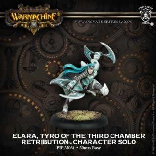 Elara Tyro of 3rd Chamber Solo Retribution Warmachine Miniature Game Privateer