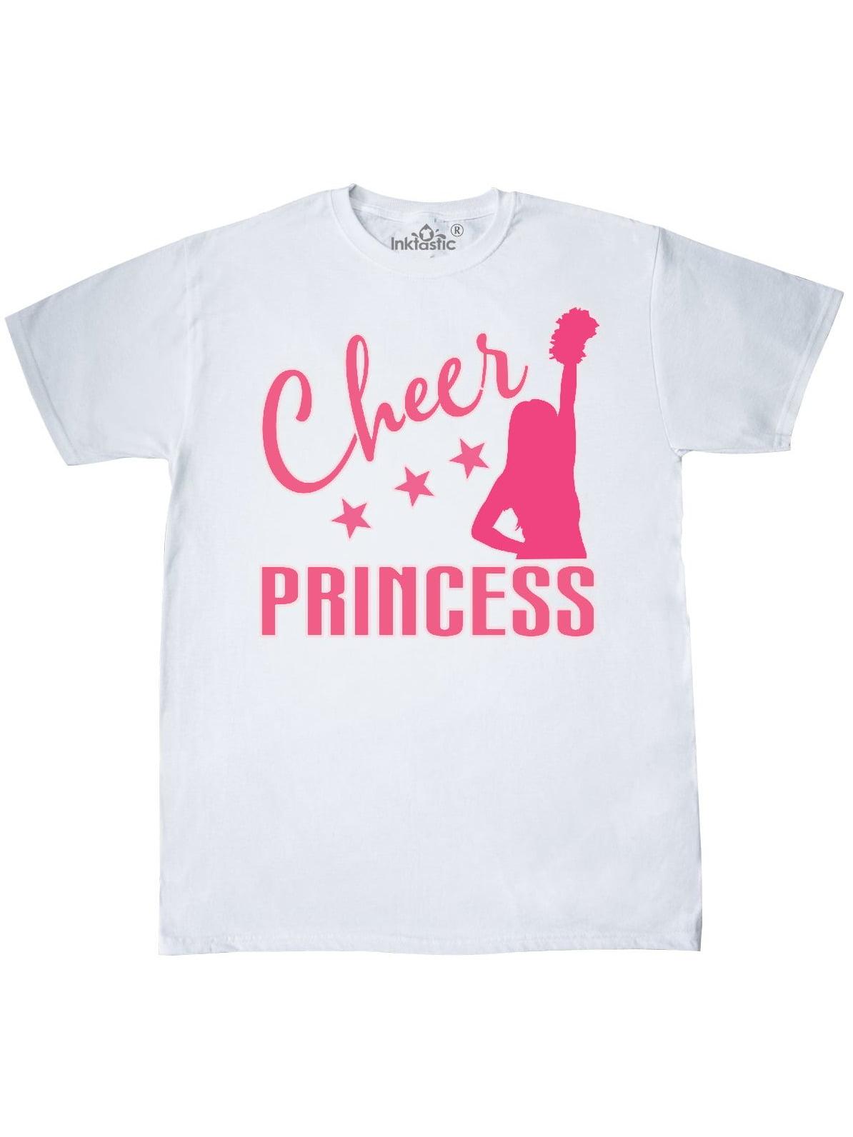 inktastic Cheer Princess Cheerleading Toddler T-Shirt