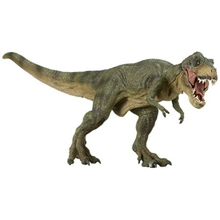 Detailed Paint Papo The Dinosaur Figure Green Running Large T-Rex Toy for Kids - Large Dinosaurs