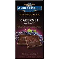 Ghirardelli Intense Dark Cabernet Matinee Chocolate, 3.5 Oz.