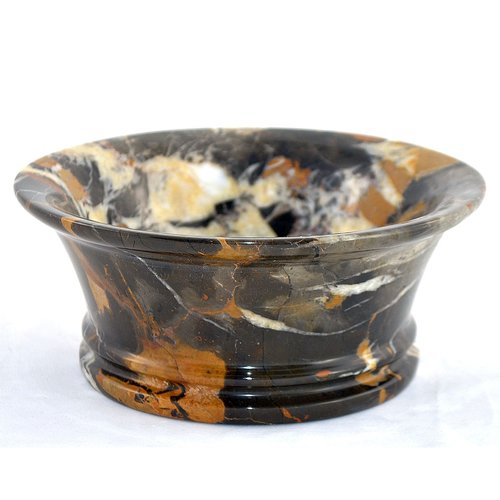 Nature Home Decor Michelangelo Marble 8'' Decorative Bowl