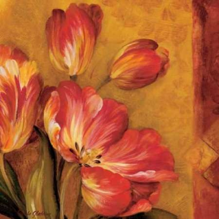 Pamela Gladding Pandoras Bouquet - Pandoras Bouquet III Rolled Canvas Art - Pamela Gladding (12 x 12)