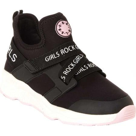 "BCBG Girls Gaia ""Girls Rock"" Sporty Athletic Sneakers (Little Girls & Big Girls)"