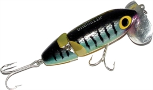 G620 Arbogast Jointed Jitterbug 3 8 oz Perch Fishing Lure by Arbogast