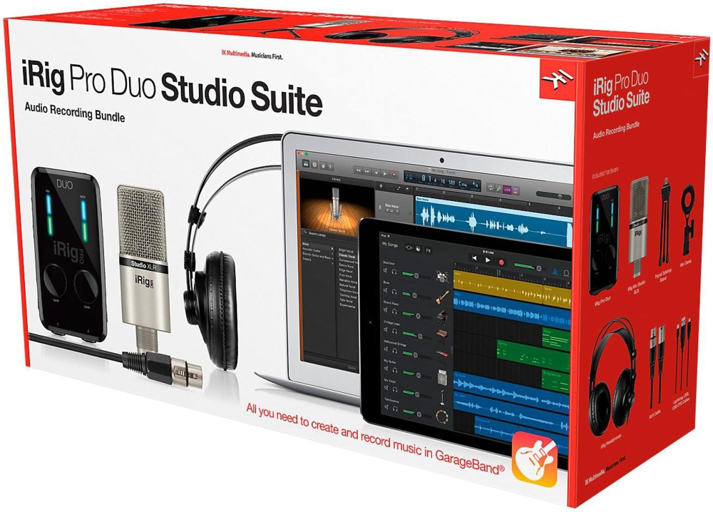 IK Multimedia iRig Pro Duo Studio Suite by IK Multimedia