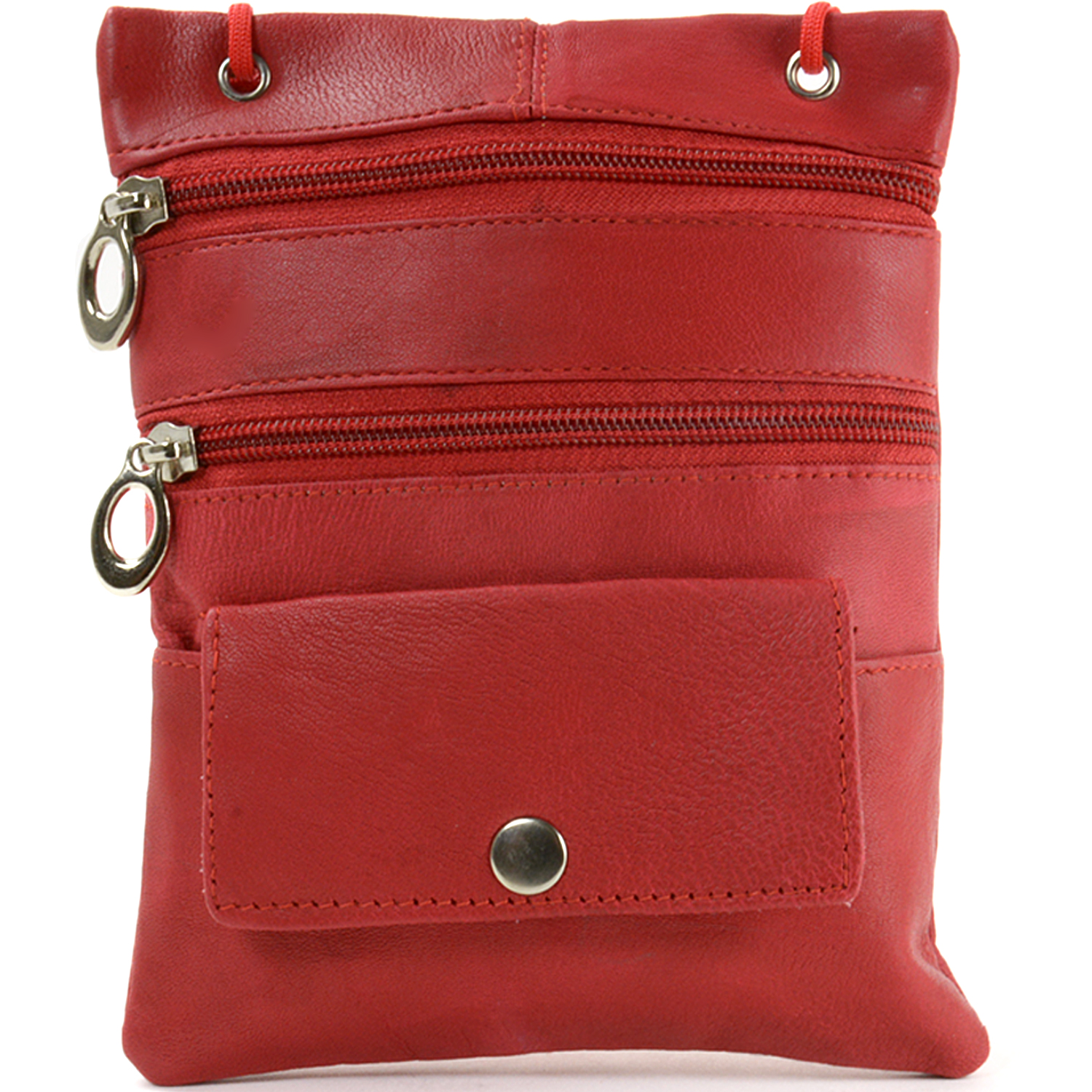 Womens Leather Organizer Purse Shoulder Bag Handbag Cross Body Bag ...