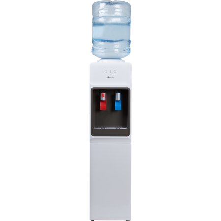 Avalon Top Loading Hot/Cold Water Cooler, Child Safety Lock, NSF UL Energy Star, White