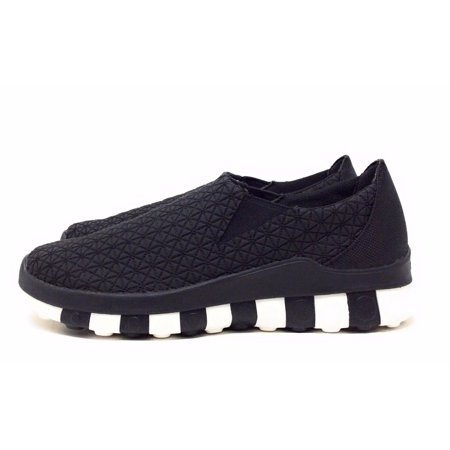 71e194fd92369 CCILU - CCILU Womens Horizon Universe Slip On Shoe Black Nylon White Size 8  M US - Walmart.com