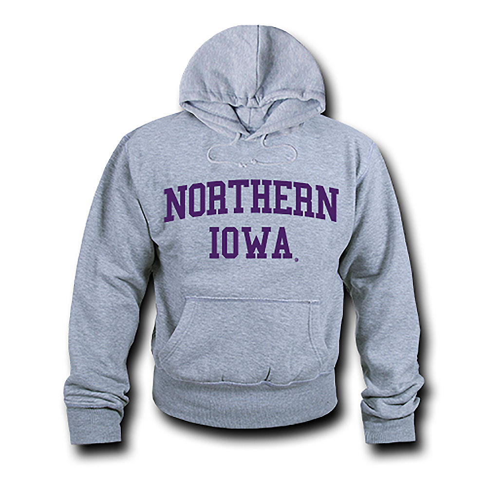Northern Iowa Panthers Game Day Hoodie (Gray)