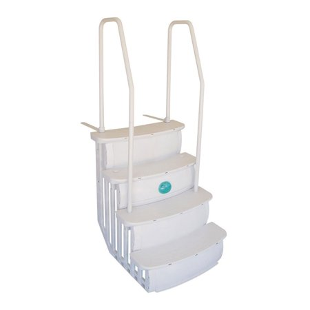 Main Access 200601T iStep Above Ground Swimming Pool Deck Entry Step Ladder