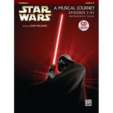 Movie Instrumental Solos Flute - Star Wars Instrumental Solos (Movies I-VI) : Trombone, Book & CD