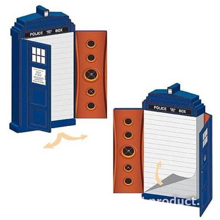 Doctor Who Tardis Note Pad