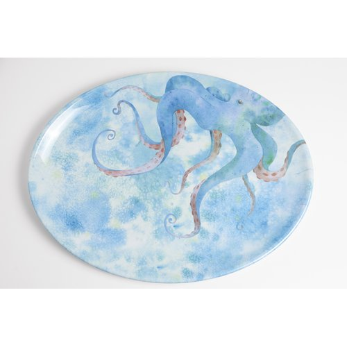 Galleyware Company Yacht and Home Octopus Melamine Platter