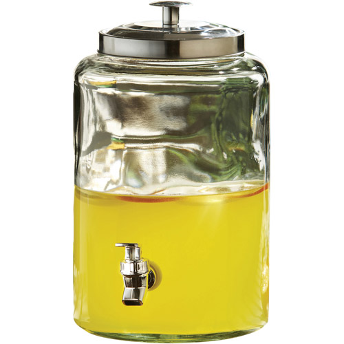 Style Setter Jacksonville Glass Beverage Dispenser