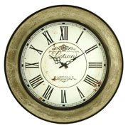 Aspire Home Accents Avery Round Wall Clock