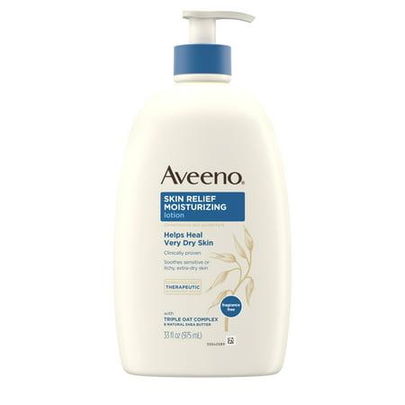 Black Eel Skin (Aveeno Skin Relief Moisturizing Lotion for Sensitive Skin, 33 fl. oz)