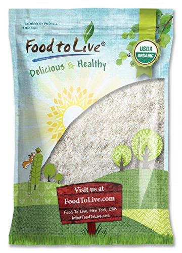 Food To Live Organic Shredded Coconut (Desiccated, Unsweetened, Non-GMO, Bulk) (4 Pounds) by