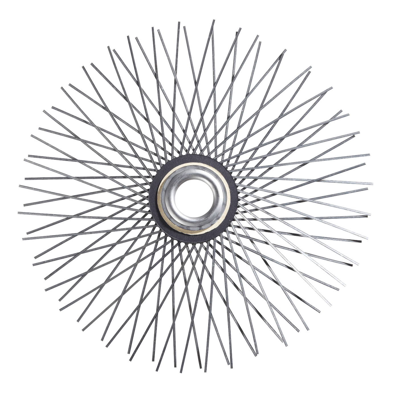 Stainless Flat Wire Star Brush