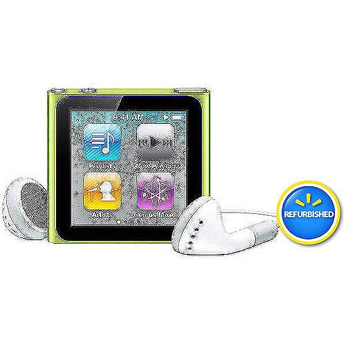 Apple iPod Nano 6th Generation 16GB (Assorted Color) Refurbished
