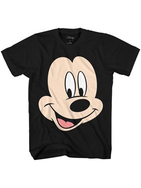 54ffe0666a835e Product Image Disney Mickey Mouse Face Big Smile Disneyland World Retro  Classic Vintage Tee Funny Humor Adult Mens