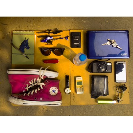 Canvas Print The Key Staff Shoes Everything in My Bag Stretched Canvas 10 x 14](Everything Shoes)