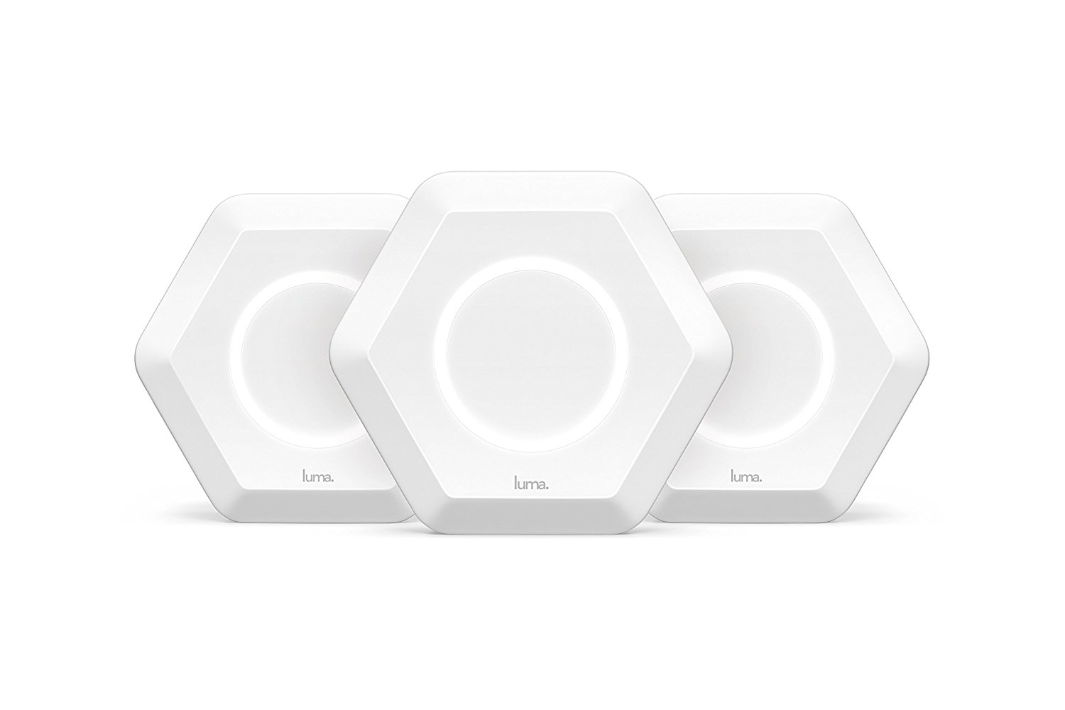 Luma Home WiFi System (3 Pack) Replaces WiFi Extenders and Routers, Works with Alexa, Simultaneous Dual Band 2.4 5GHz,... by Luma