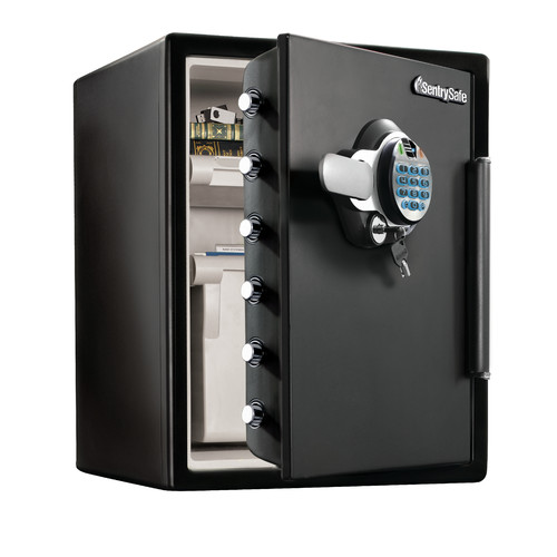 Sentry Safe Fingerprint Water-Resistant Dual-Lock with Se...