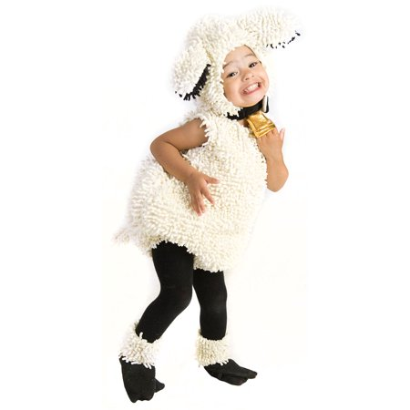 Baby Lovely Lamb Deluxe Costume (Baby Bulldog Costume)