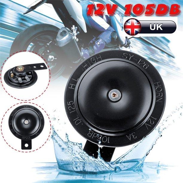 12V 105DB Universal Basin Horn Speaker Tone Stainless