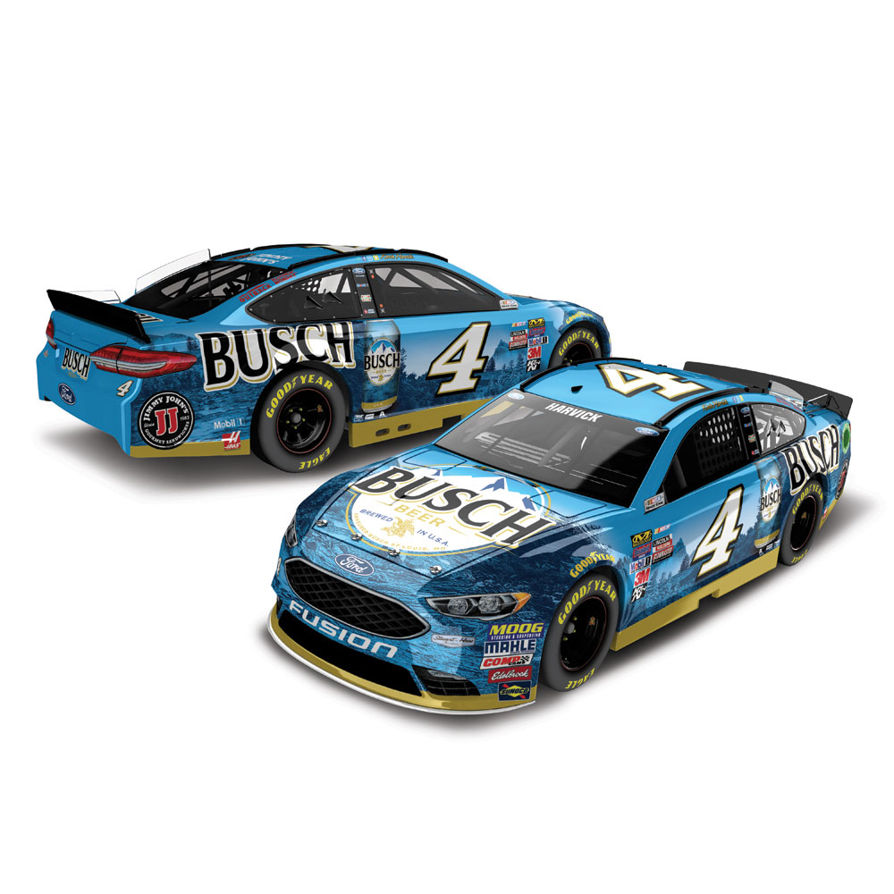 Lionel Racing Kevin Harvick #4 Busch 2017 Ford Fusion 1:24 Scale HOTO Die-Cast