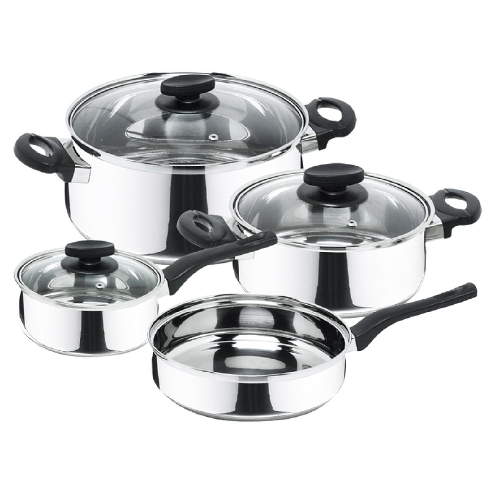 Magefesa Bohemia-Priminute 7 Piece Stainless Steel Cookware Set