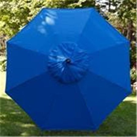 Image of california umbrella replacement canopy cover in pacifica hunter green umbrella, 9' round