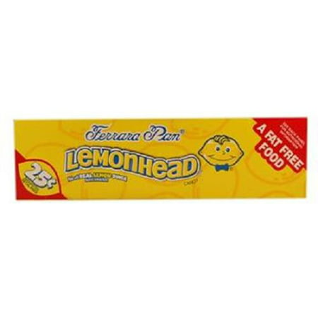 Product Of Ferrara Pan, Lemonhead Lemon Pp 25C, Count 24 (0.8 oz) - Sugar Candy / Grab Varieties & Flavors