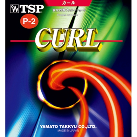 TSP Curl P2 / P-2 - Long Pips Table Tennis Rubber