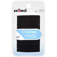 Scunci No Damage Comfortable All Day Hold Gentle - 34 CT