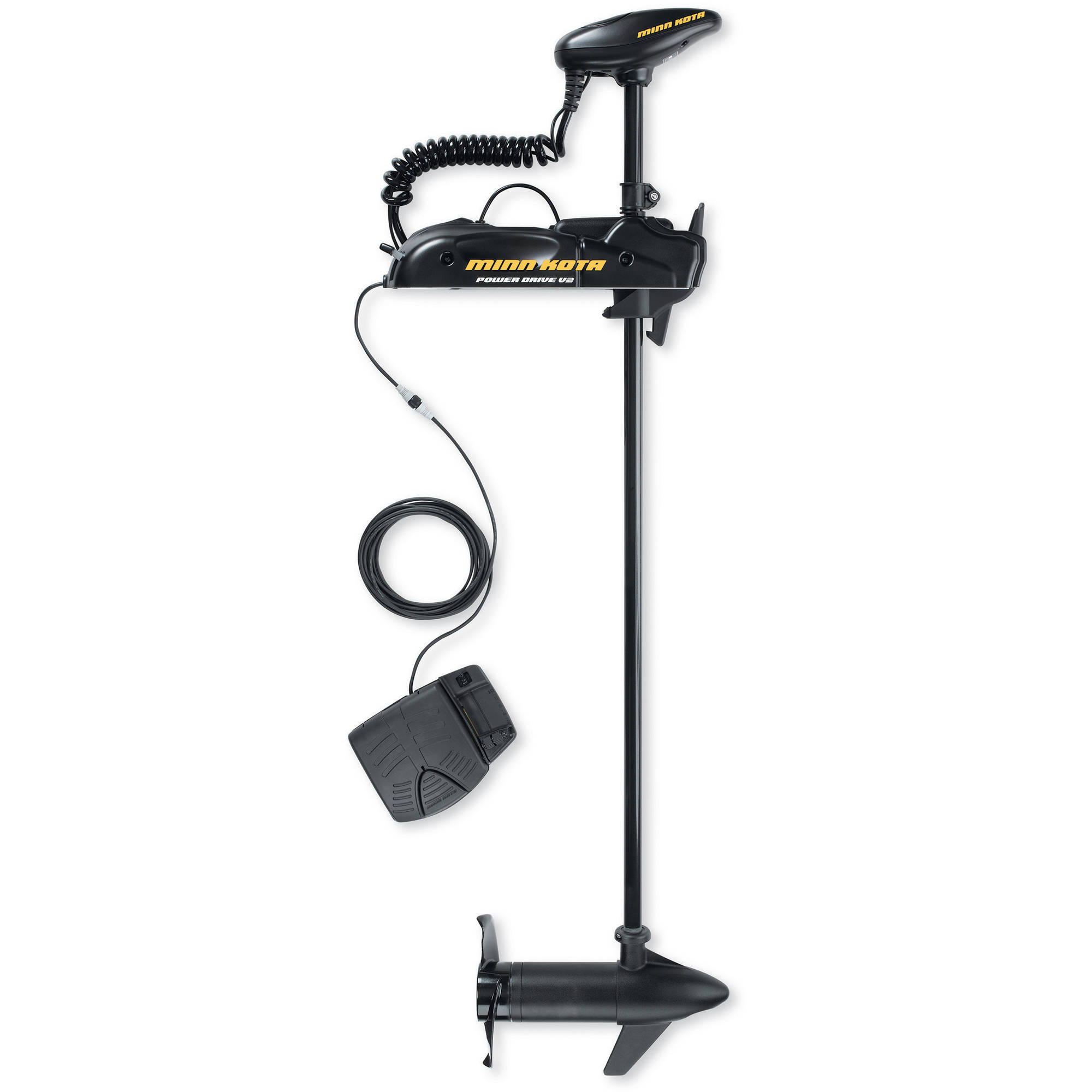 "Click here to buy Minn Kota Powerdrive V2 55 AP Freshwater Bow Mount Trolling Motor with AutoPilot, 55 lb Thrust, 54"" Shaft by MINN KOTA."