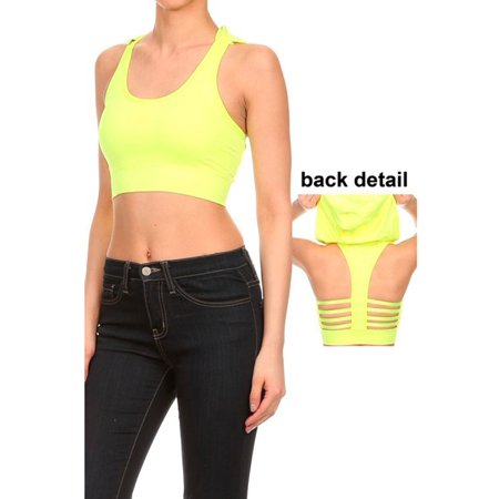 - Seamless Performance Style Sports Bra With Hood