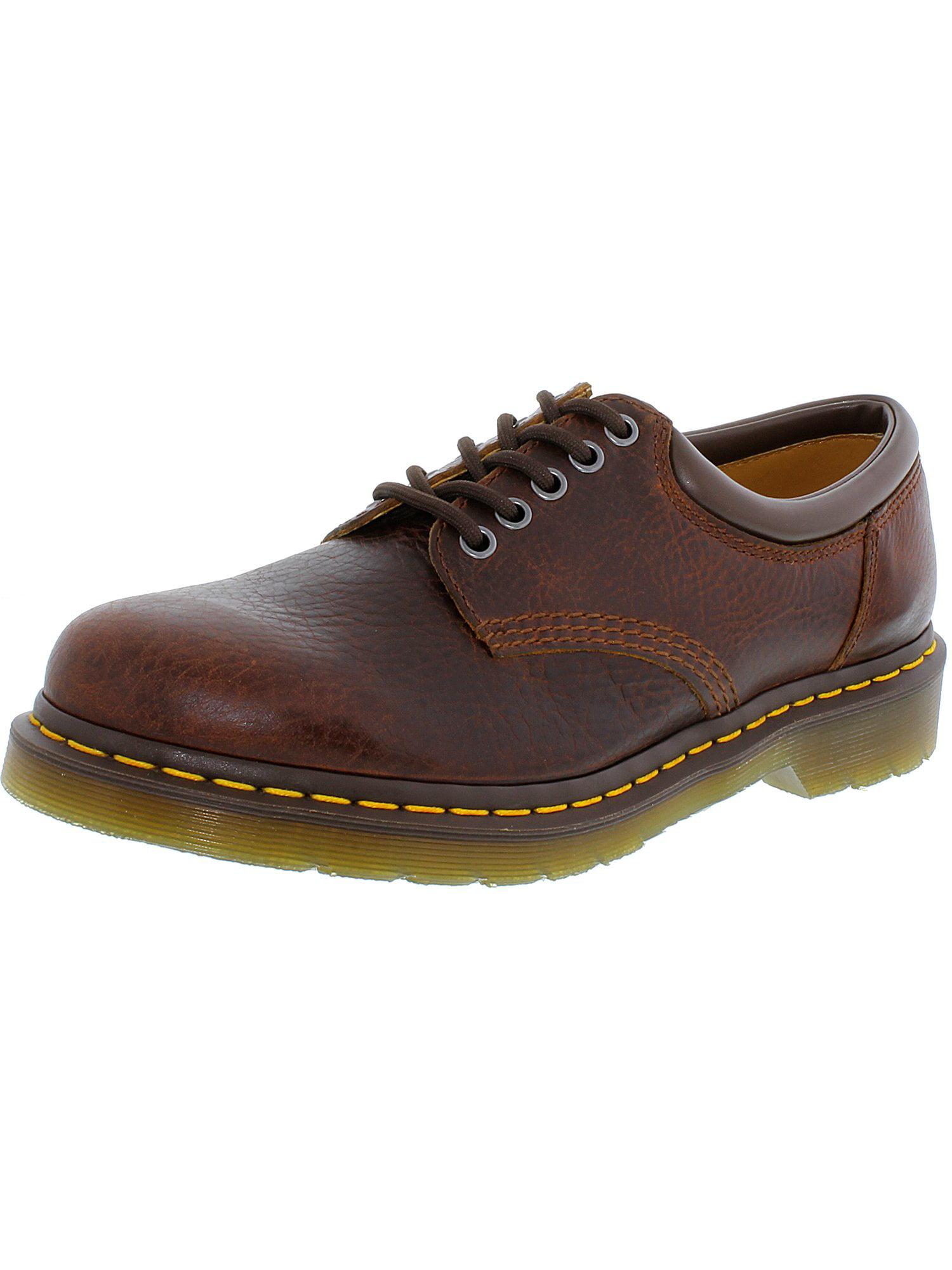 Dr. Martens Men's 8053 Lace-Up Black Ankle-High Leather Oxford Shoe 12M by Dr. Martens
