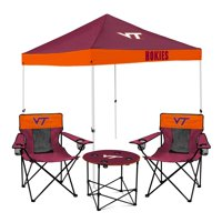 Virginia Tech Hokies Tailgate Canopy Tent, Table, & Chairs Set