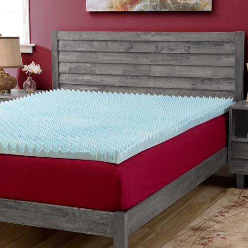 Slumber Solutions  Gel Highloft Memory Foam Mattress Topp...