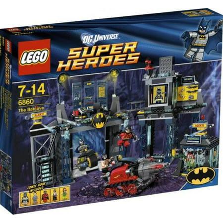 Lego Dc Universe Super Heroes The Batcave Set 6860 Walmartcom