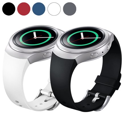 EEEKit Silicone Wrist Band for Samsung Gear S2 (SM-R720 Version ONLY) Smart Watch, Silicone Watch Band Bracelet Strap