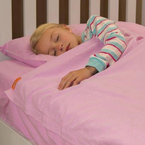 KIds Zip Sheets Flannel Kids Sheet Set