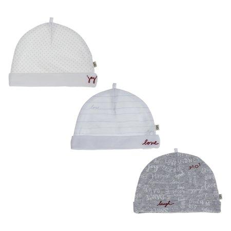 ED Ellen DeGeneres Baby 3-pack Hats