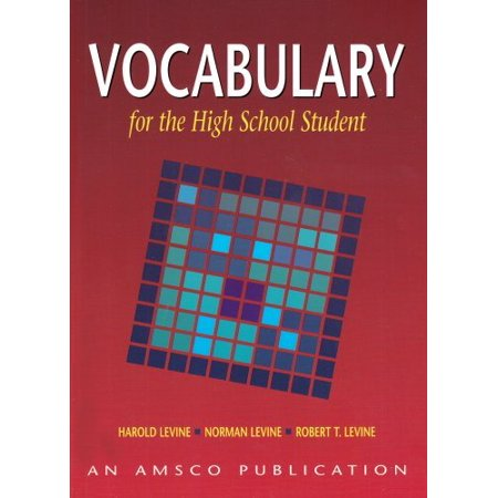 Vocabulary for the High School Student (Paperback) - Halloween Vocabulary High School