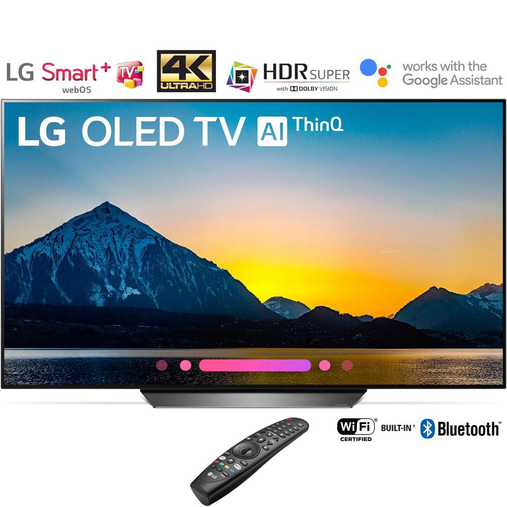 """LG OLED55B8PUA 55"""" Class B8 OLED 4K HDR AI Smart TV (2018 Model) � (Certified Refurbished)"""